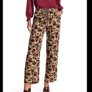 NWT Johnny Was Vic Easy Floral Print Pants